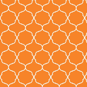 Hexafoil Orange and White