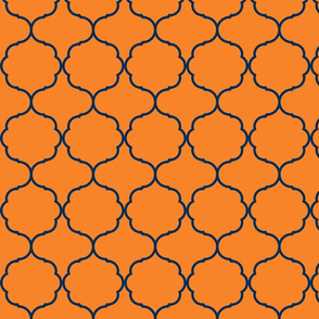 Hexafoil Orange and Navy
