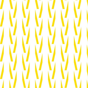Aztec Stripes Yellow/White-ch-ch-ch
