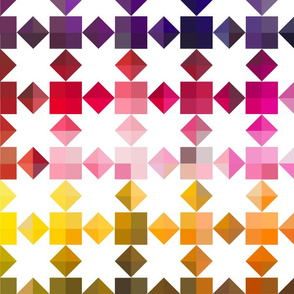 quilted stars in color chart