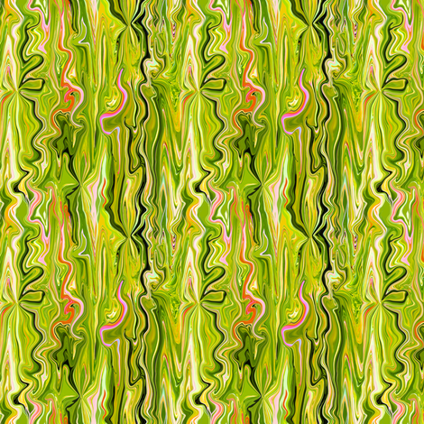 BFM3 - Lime Butterfly Marble fabric by maryyx on Spoonflower - custom fabric