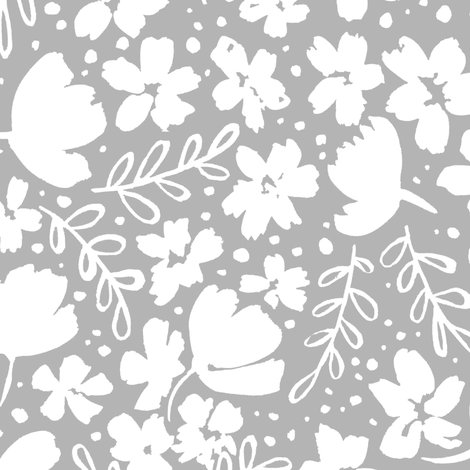 R248_love_blossoms_floral_pattern_big_white_on_grey_shop_preview