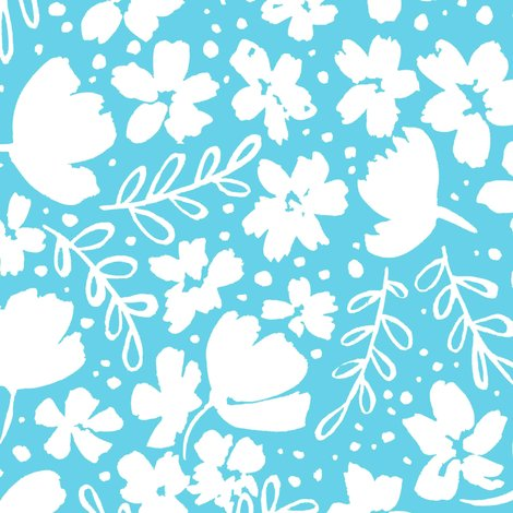 R248_love_blossoms_floral_pattern_big_white_on_light_blue_shop_preview