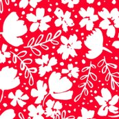 R248_love_blossoms_floral_pattern_big_white_on_red_shop_thumb