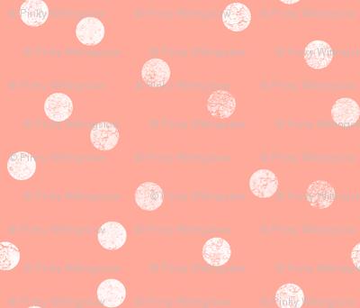 Snowballs on Pink