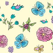 Retro Floral (Large)