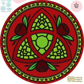 Mandala094-a  Cover-up Poncho