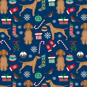 christmas dog design christmas dog fabric vizslas fabric dog design