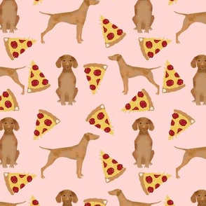 vizsla pizza fabric dog fabric dogs pizza design vizslas fabric