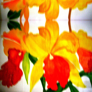 Kaung_botanical_yellow_cattleya