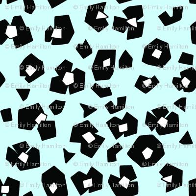animal_print__black_white__blue_background