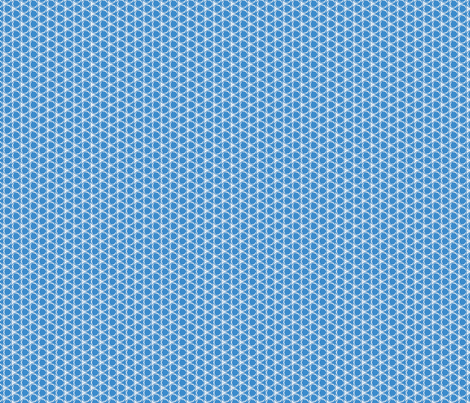 Honeycomb In Blue  fabric by doodleyd on Spoonflower - custom fabric