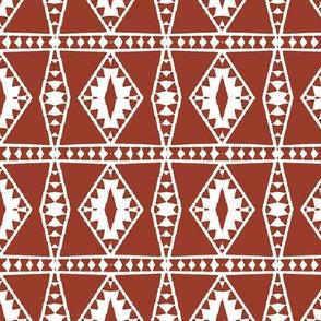 Tribal Ox Blood Reverse