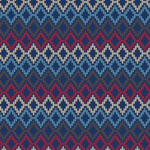 diamond knit