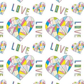 Geometric love