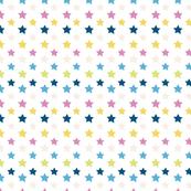 Bright grunge stars
