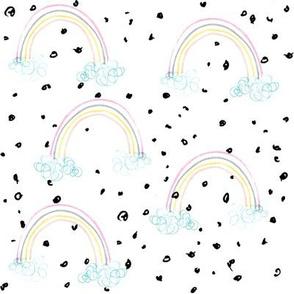 Magic Rainbows - pastel