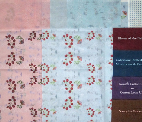 Harmonious Blue Dots for Raspberries Collection