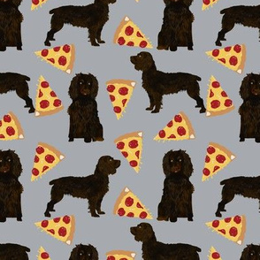 boykin spaniel pizza fabric pizza dog design spaniel dogs fabric