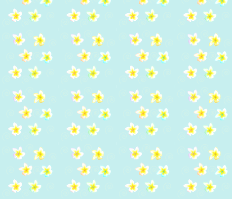flower3 fabric by teal_feather on Spoonflower - custom fabric