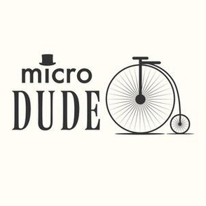 microdude baby blanket design, micro dude, penny farthing, bicycle