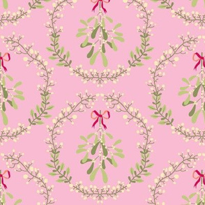 Mistletoe_wreath_fond_pink_M