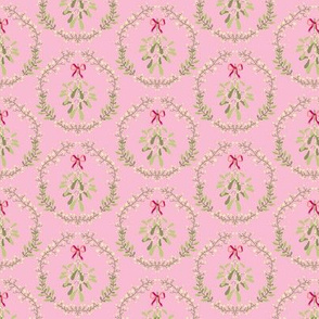 Mistletoe_wreath_fond_pink_S