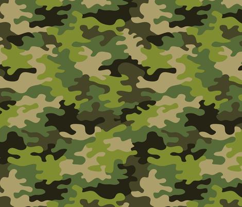 camo (green) fabric by analinea on Spoonflower - custom fabric