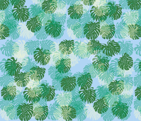 leafpattern4 fabric by snap-dragon on Spoonflower - custom fabric