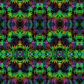 Trippy Fabric Wallpaper Gift Wrap Spoonflower