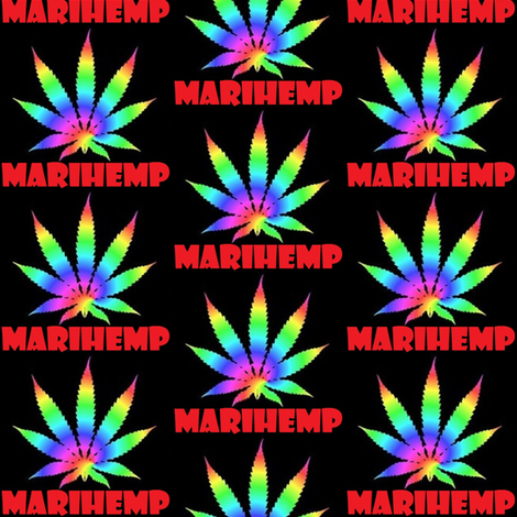 Marihemp Logo fabric by marihemp on Spoonflower - custom fabric