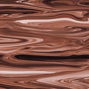 LMC - Liquid Milk Chocolate Brown Marble , CW large