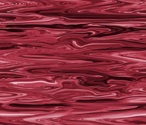 LBC - Liquid Black Cherry Marbled, Crosswise, Large fabric by maryyx on Spoonflower - custom fabric