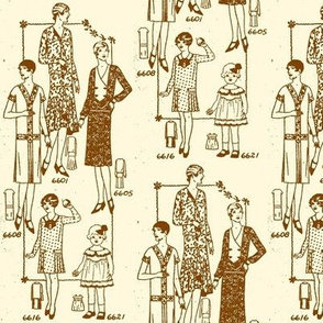 Fashion, September 1929 style