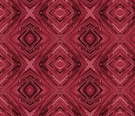LBC - Liquid Red Black Cherry Diamonds, large fabric by maryyx on Spoonflower - custom fabric