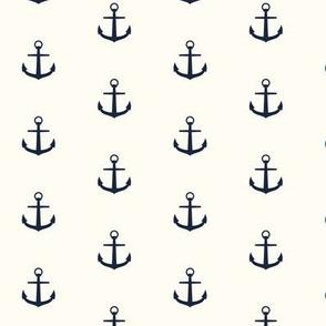 Anchor nautical inverse sea