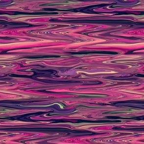 Liquid Magenta Relish Marbled, Crosswise, Small
