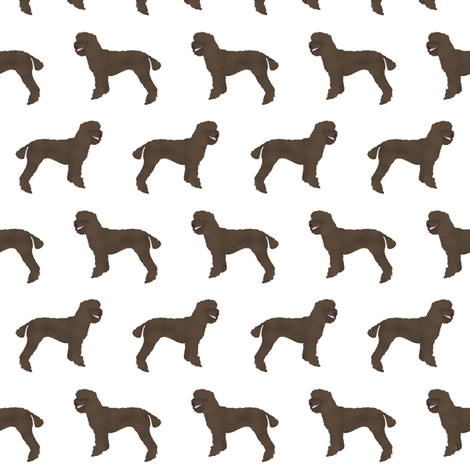 poodle fabric brown poodles design cute brown poodles fabric best dog fabrics fabric by petfriendly on Spoonflower - custom fabric