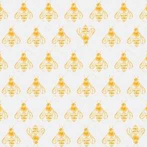 Honey bee I love thee // yellow