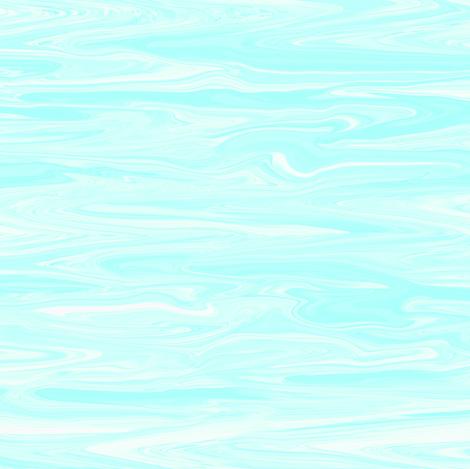 LAP - Pastel Liquid Aqua, small, crosswise fabric by maryyx on Spoonflower - custom fabric