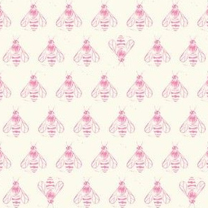 Honey bee I love thee // pretty pink