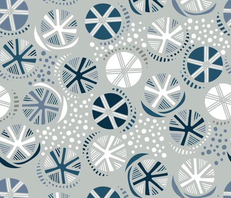 Snow Day fabric by tiffanyheiger on Spoonflower - custom fabric