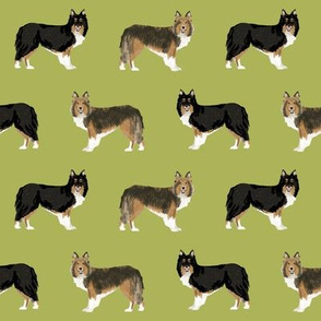 sheltie dog fabric tri colored black and tan sheltie shetland sheepdog sable and white dogs, best dog fabric