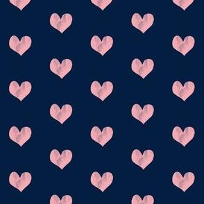 hearts || navy