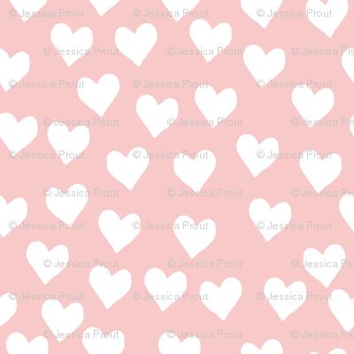 hearts || rose quartz