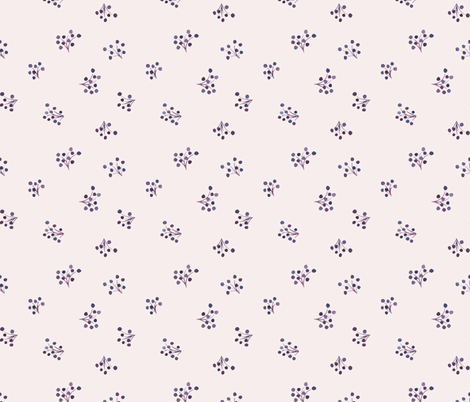 blueberries fabric by meissa on Spoonflower - custom fabric
