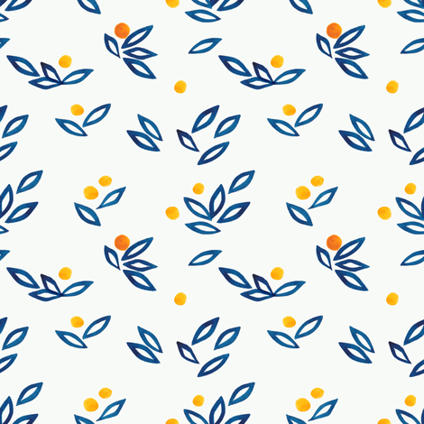 oranges2 fabric by meissa on Spoonflower - custom fabric