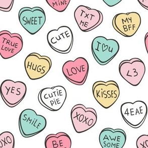Conversation Candy Hearts Valentine Love