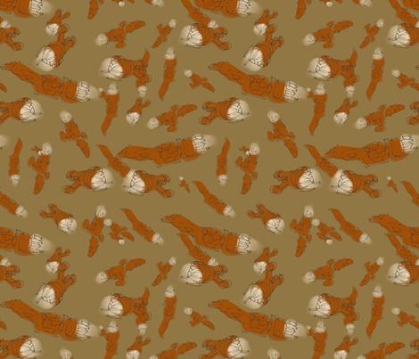 Serenity - smaller fabric by aliceelettrica on Spoonflower - custom fabric