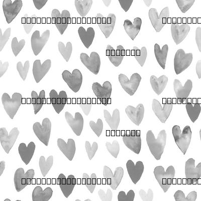 watercolor valentines fabric watercolour heart fabrics valentine design